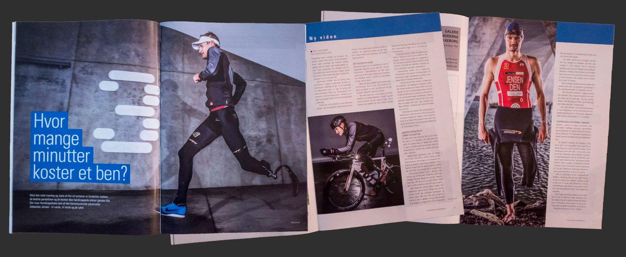 Artiklen blev bragt i Dansk Handicap Idrætsforbunds blad Handicapidræt.