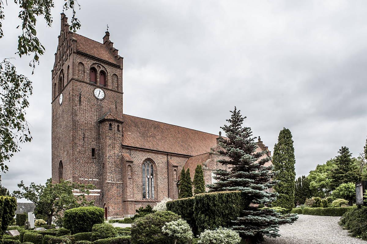 Slangerup Kirke, hvor <a href=