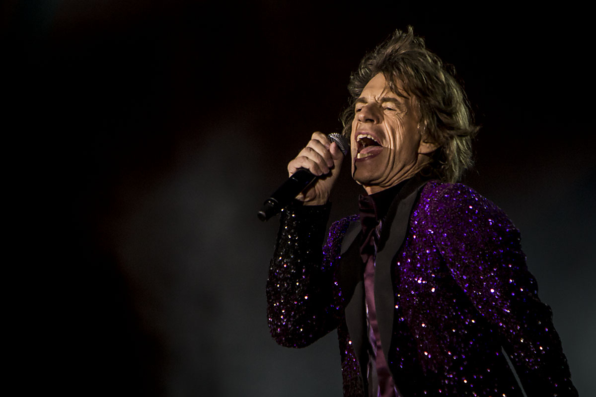 Mick Jagger på 400 mm