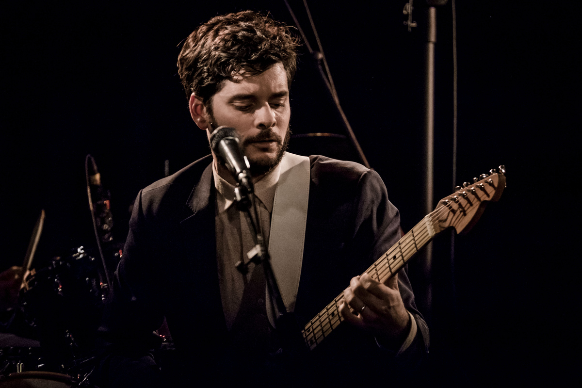 Den talentfulde guitarist Alan Parker er blevet sammenlignet med en ung Robbie Robertson.