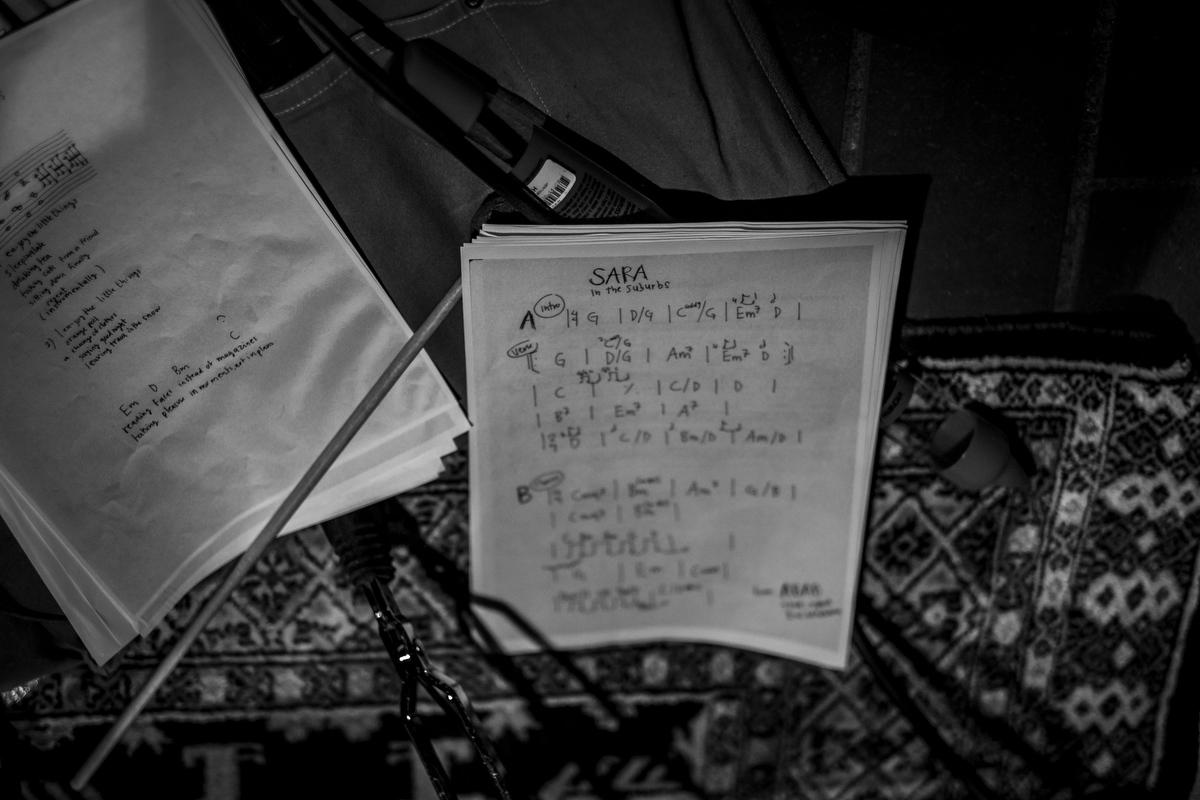 Repertoiret til den afsluttende koncert bestod af nye sange af Teitur og nogle af Whites mindre kendte numre.