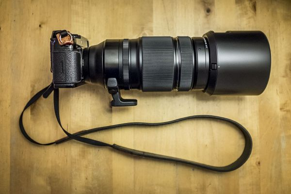 If I know photographers aren't allowed in the photo pit, I'll bring (in a separate bag) the Fujinon XF 100-400mm f/4.5-5.6 R LM OIS WR. With that, I'll be able to shoot from a distance.