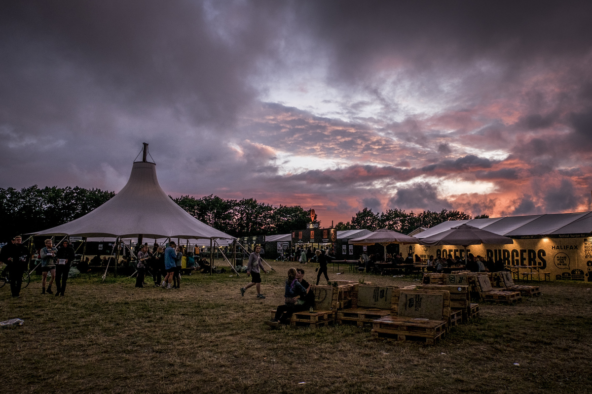 Roskilde Festival was founded in 1971, making the 2016 festival the 46th in a row.