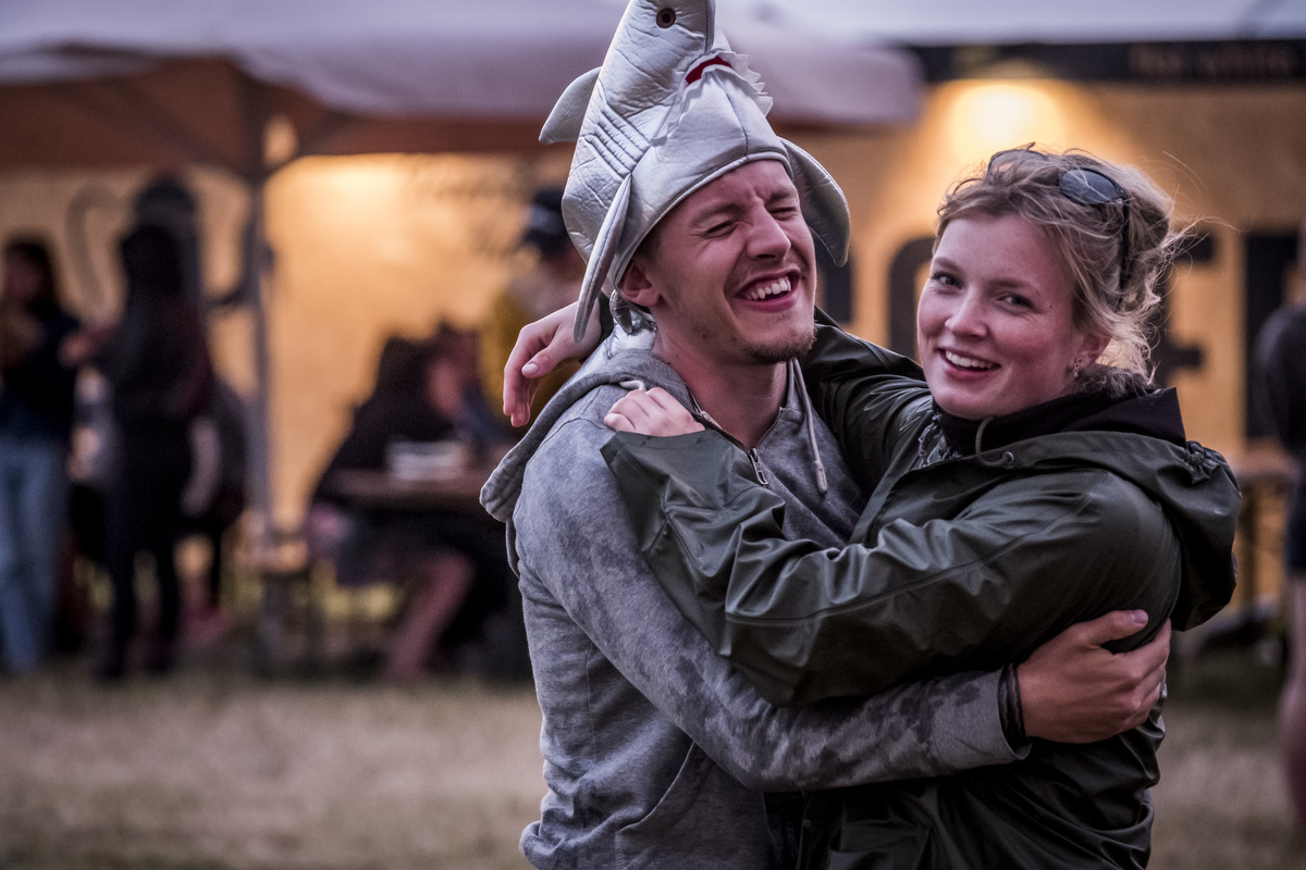 Most Roskilde goers are from Denmark, but there are also quite a few from Sweden, Norway and other countries.