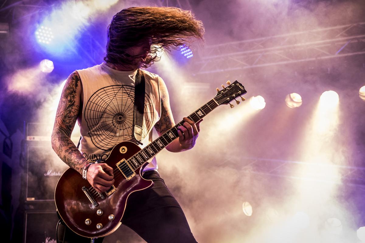 Seattle-based Black Breath deliver a brutal blend of thrash and death metal.