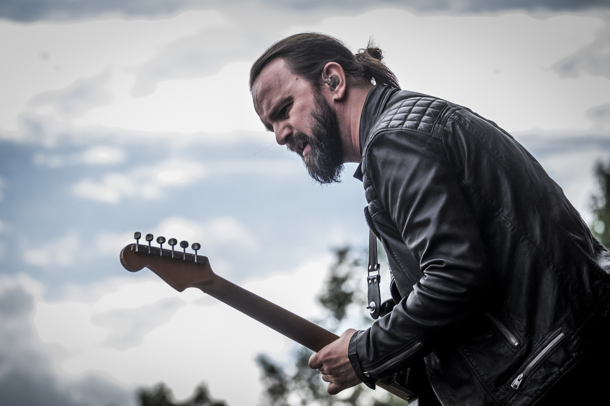 Lead singer and guitarist Tim Christensen has had a successful solo career in between the 'lives' of Dizzy Mizz Lizzy.